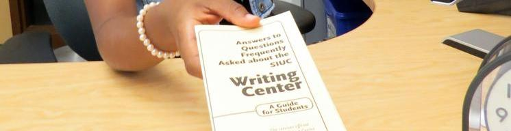 Writing Center Brochure